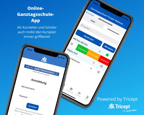 Die Online-Ganztagsschule - App ist da